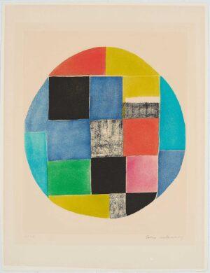 Sonia Delaunay, Untitled 2
