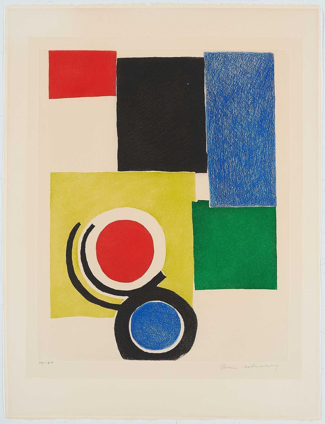 Sonia Delaunay, Untitled