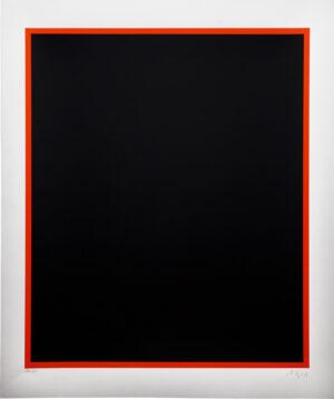 Anselm Reyle, Untitled, black, 2005