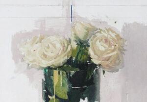 Antonio Lopez, Rosas de Avila, 2018_detail 2