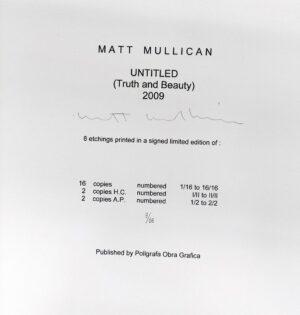 Matt Mullican, Untitled, Truth and Beauty, 2009, edition