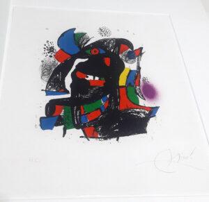 Joan Miro, 1257, from Joan Miró lithographs IV, 1981