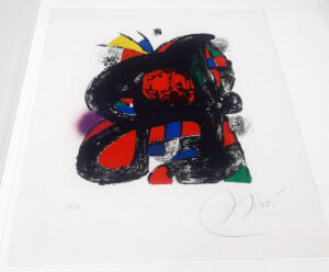 Joan Miro, 1262, from Joan Miró lithographs IV, 1981