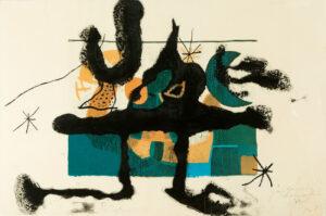 Joan Miro, Barcelona, 1972-1973