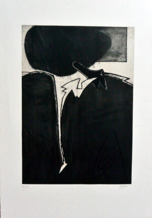 Juan Barjola, Tauromaquia, composición abstracta, 1994