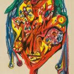 Roberto Matta, D'Yeux, 1979, detail