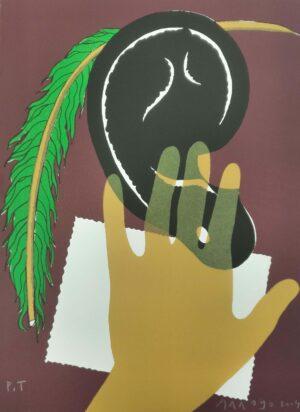 Eduardo Arroyo. Sin título, de Los prólogos del Quijote, 2004, 2