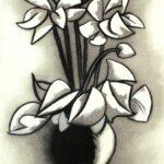 Eduardo Úrculo, Flores blancas, 1996