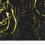 George Baselitz. Woman and woman, 1993-1994, edition and signature