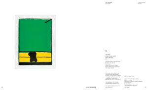 José Guerrero, Sin título, Oda al color verde, Pablo Neruda, 1975, catalogue