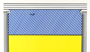 Roy Lichtenstein. Liberte, 1991, detail