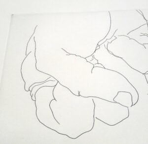 Eduardo Chillida, Esku 1, detail 2