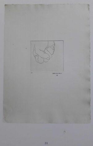 Eduardo Chillida, Esku VI, 1973, catalogue 2