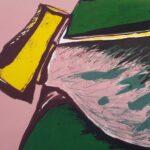 Joaquín Capa, Objeto amarillo, detail