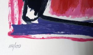 José Guerrero, Sin título, 1964, edition