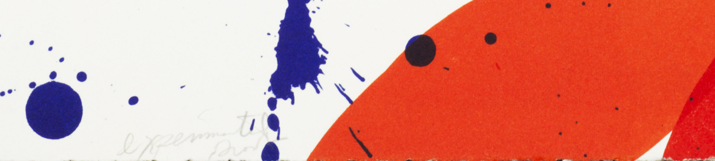 Sam Francis, Untitled (SF 61), 1961, edition