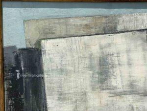 Gerardo Rueda, Tema abstracto, 1959, detail 1