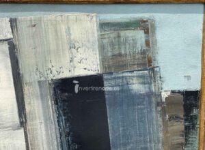 Gerardo Rueda, Tema abstracto, 1959, detail 2