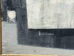 Gerardo Rueda, Tema abstracto, 1959, signature and date