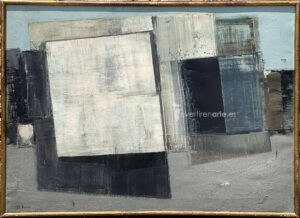 Gerardo Rueda, Tema abstracto, 1959